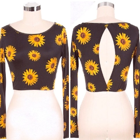 SHOP UBB | FLORA CROP TOP |