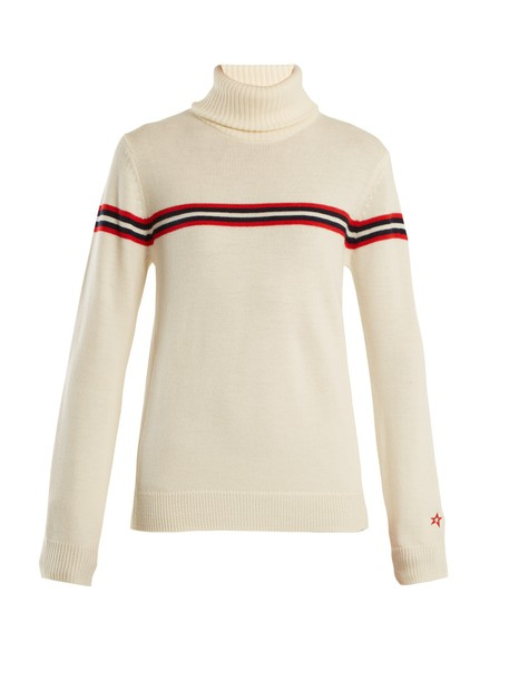 Perfect Moment sweater wool knit cream