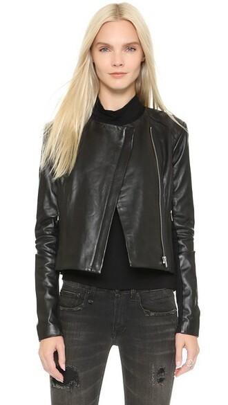 jacket classic black