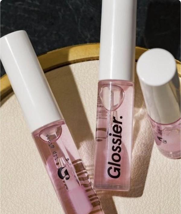 make-up glossier lip care lipstick lips lip gloss lip balm lip print pink lipstick