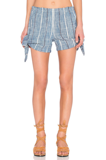 Free People shorts blue