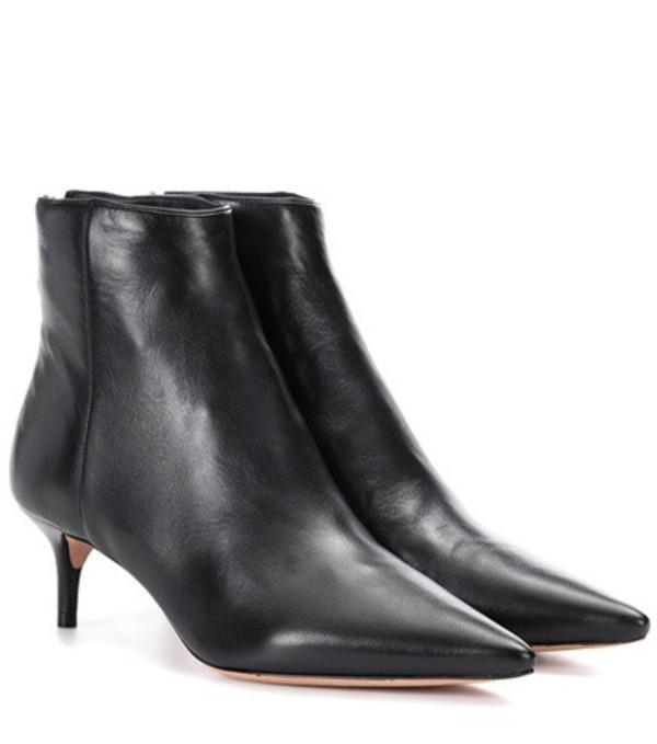 Alexandre Birman Kittie leather ankle boots in black
