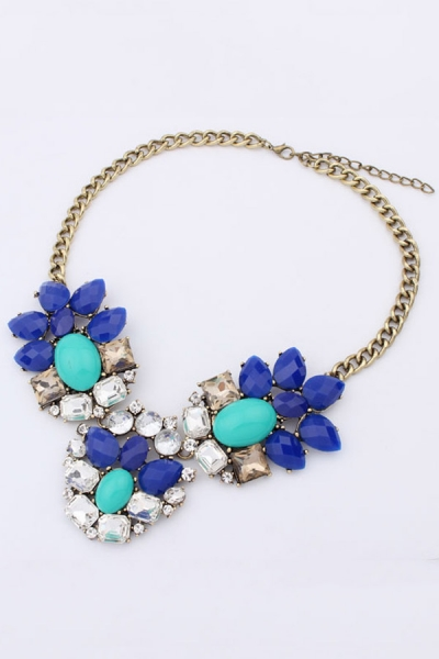 Shiny Flower Necklace - OASAP.com