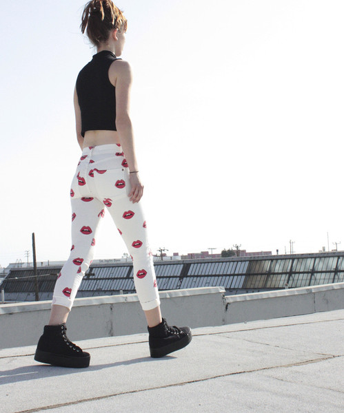 Read My Lips High Rise Skinny – #NYLONshop