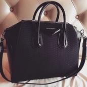 bag,givenchy,black,cool,tumbrl,givenchy bag,handbag