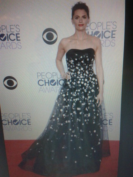 dress stana katic people's choice awards