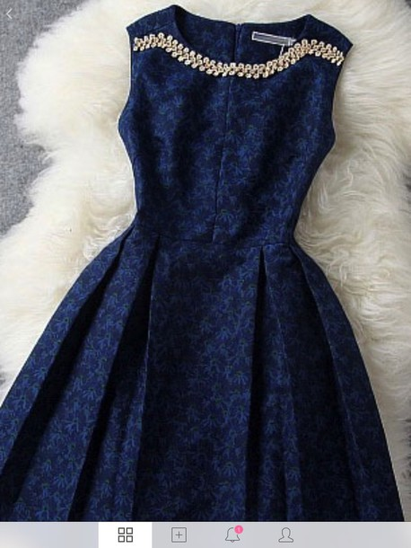 dress navy formal