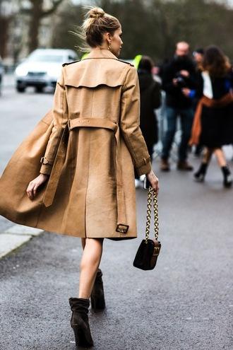 le fashion image blogger coat bag