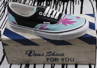 Vans Van Doren Vault OG Era LX Palm Leaf Pool Teal Blue Black Red Shoes Size 9 | eBay