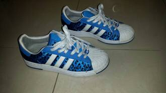 shoes blue blue shoes leopard print blue leopard print adidas adidas shoes