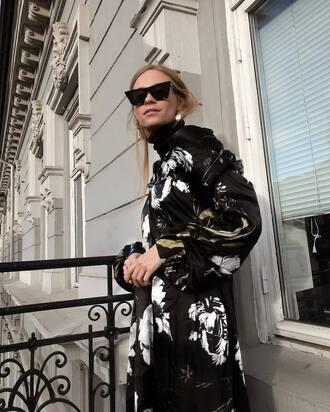 coat sunglasses black sunglasses