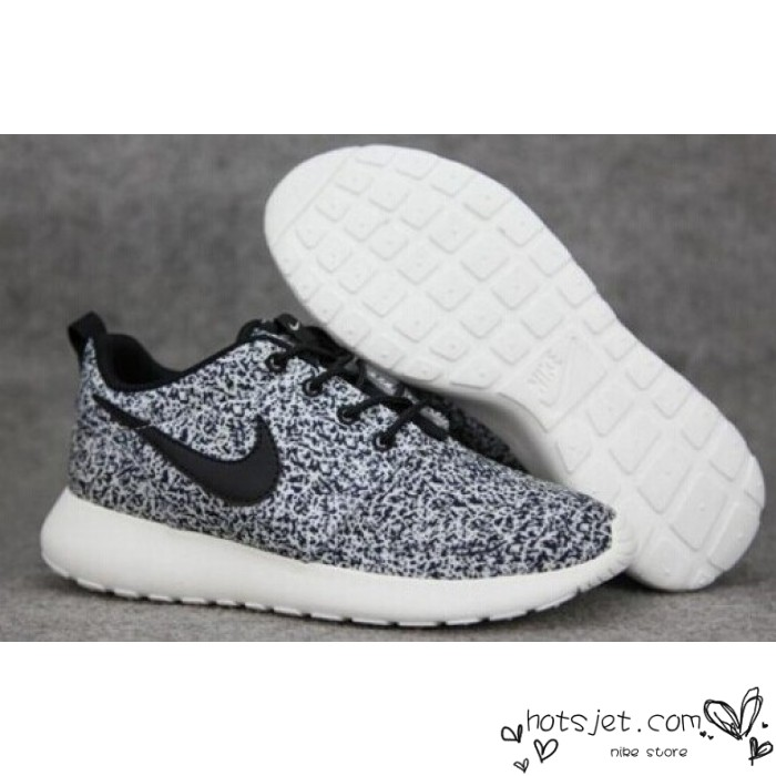 outlet store bae2e eb07a roshe run white black speckled shoe Find Deals on Kyrie 2 ...
