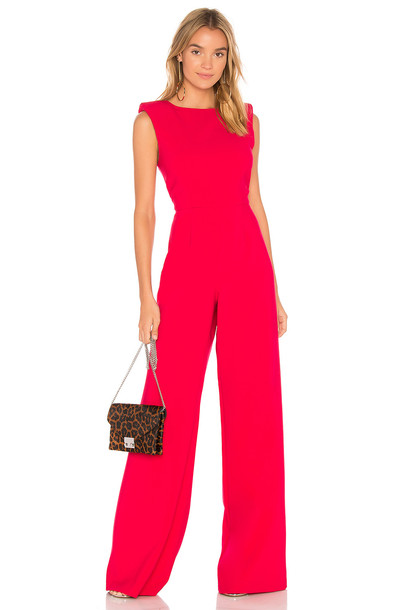 Jay Godfrey Reese Jumpsuit in pink