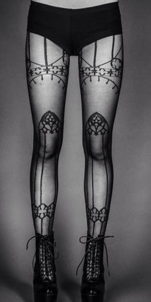 pants tattoo tights printed leggings