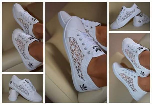 048dc8b5642 shoes adidas shoes adidas adidas shoes white lace sneakers adidas lace  shoes adidas lace sneakes lace