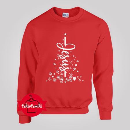 Star Jesus Tree Sweatshirt
