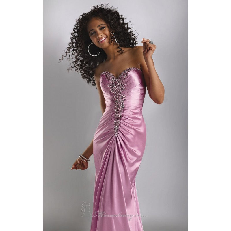 Ruched Bodice Gown by Flirt by Maggie Sottero Dress P4556 - Bonny Evening Dresses Online