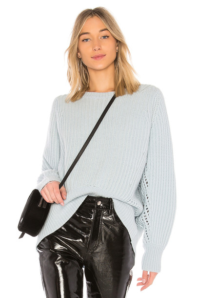 Rag & Bone sweater baby blue baby blue