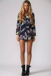 romper,print rompers,sexy rompers
