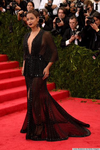 dress beyonce detailed black dress met gala 2014 black sequin dress maxi dress gown red carpet dress black prom dress