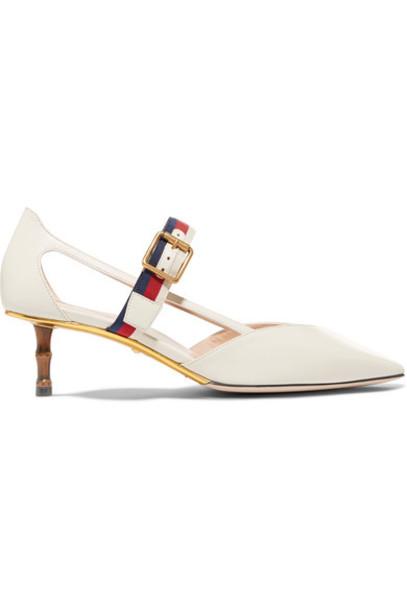 gucci pumps leather shoes
