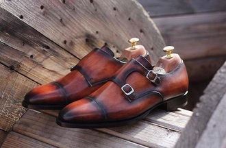 shoes ombre brown