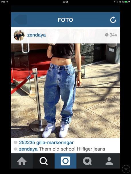 jeans zendaya vintage blue jeans