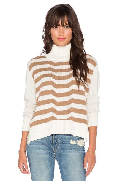 Mara Hoffman turtleneck knit brown