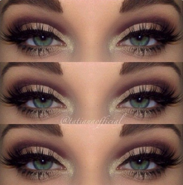 Make Up Pretty Eyes Eye Makeup Eyeliner Eye Shadow Eyelashes