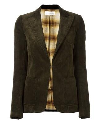 blazer jacket brown