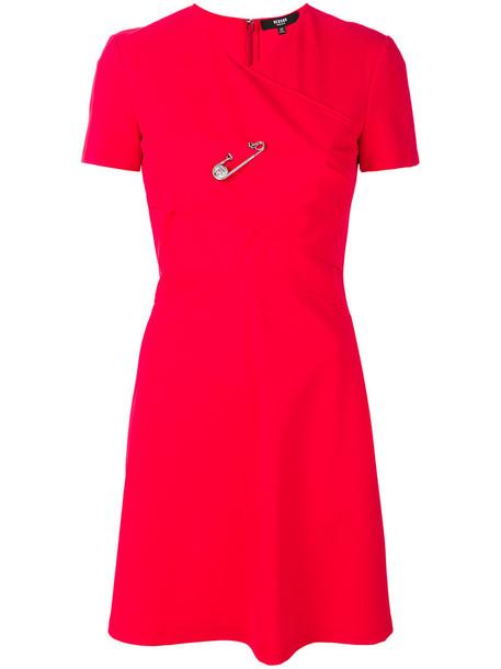 Versus dress skater dress women spandex skater red