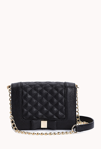Charming Quilted Crossbody | FOREVER21 - 1000127872