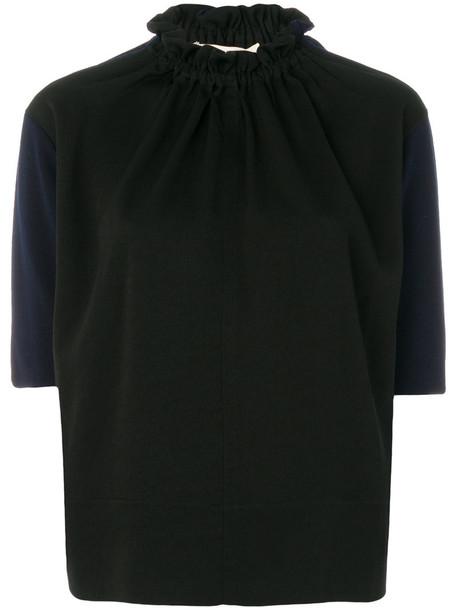 MARNI top women black wool