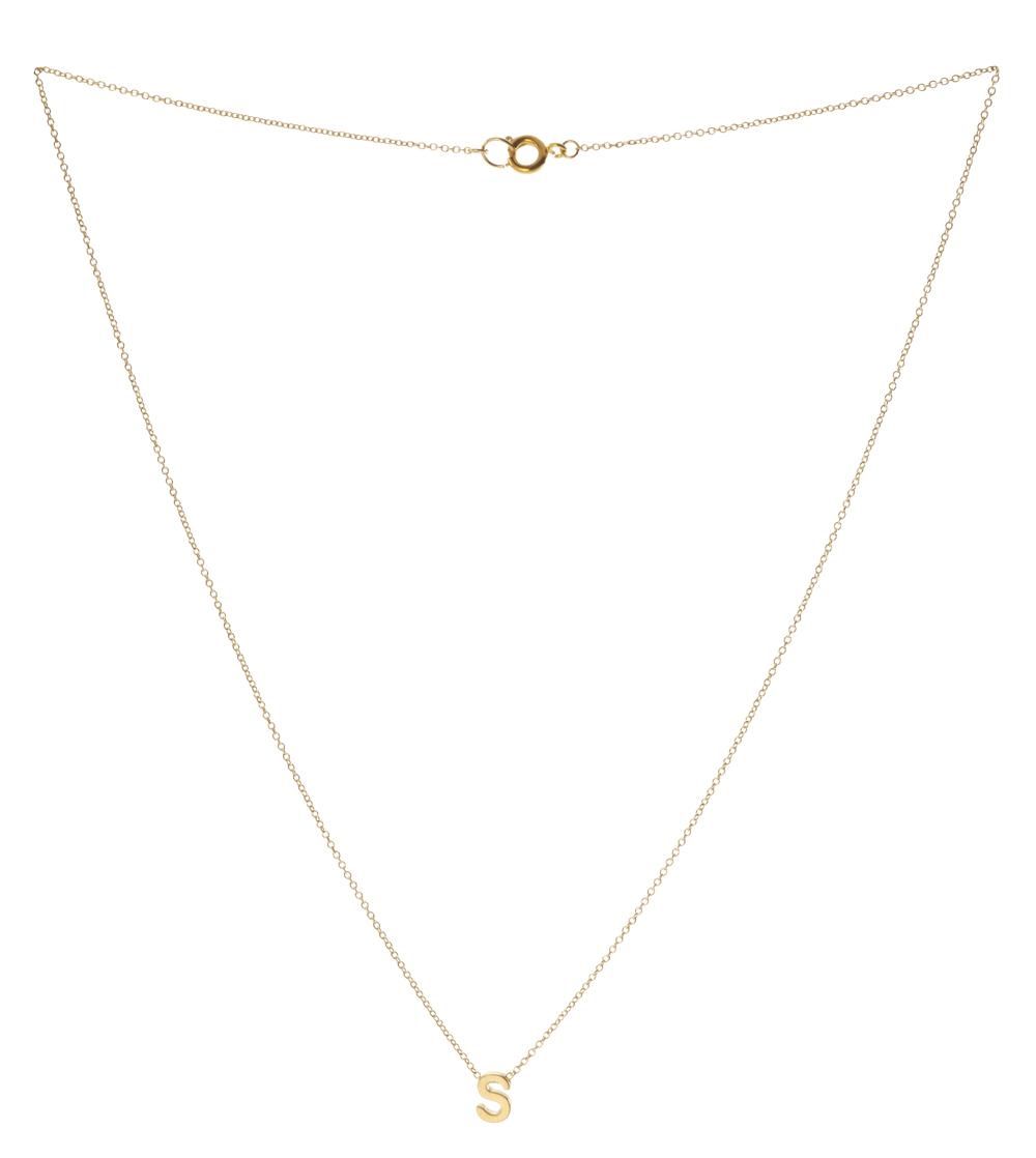 Dainty Initial Necklace - Love Always by Stephanie Diaz
