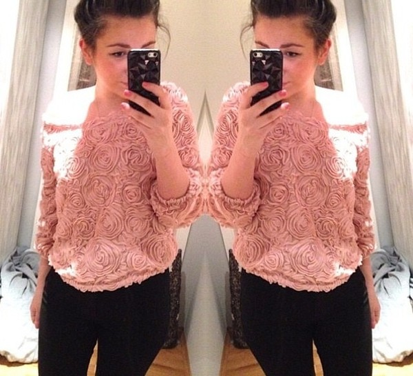 shirt rose