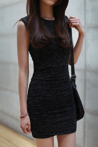 dress black little black dress bodycon dress heather grey black dress casual casual dress date outfit cute dress chic trendy girly rock edgy basic stylish sexy sexy dress sexy party dresses