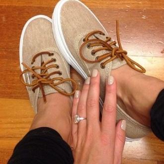 shoes beige shoes vans tan