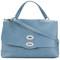 Zanellato - medium original shoulder bag - women - leather - one size, blue, leather