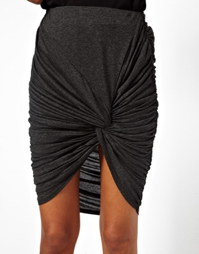 ASOS | ASOS Skirt With Knot Detail at ASOS