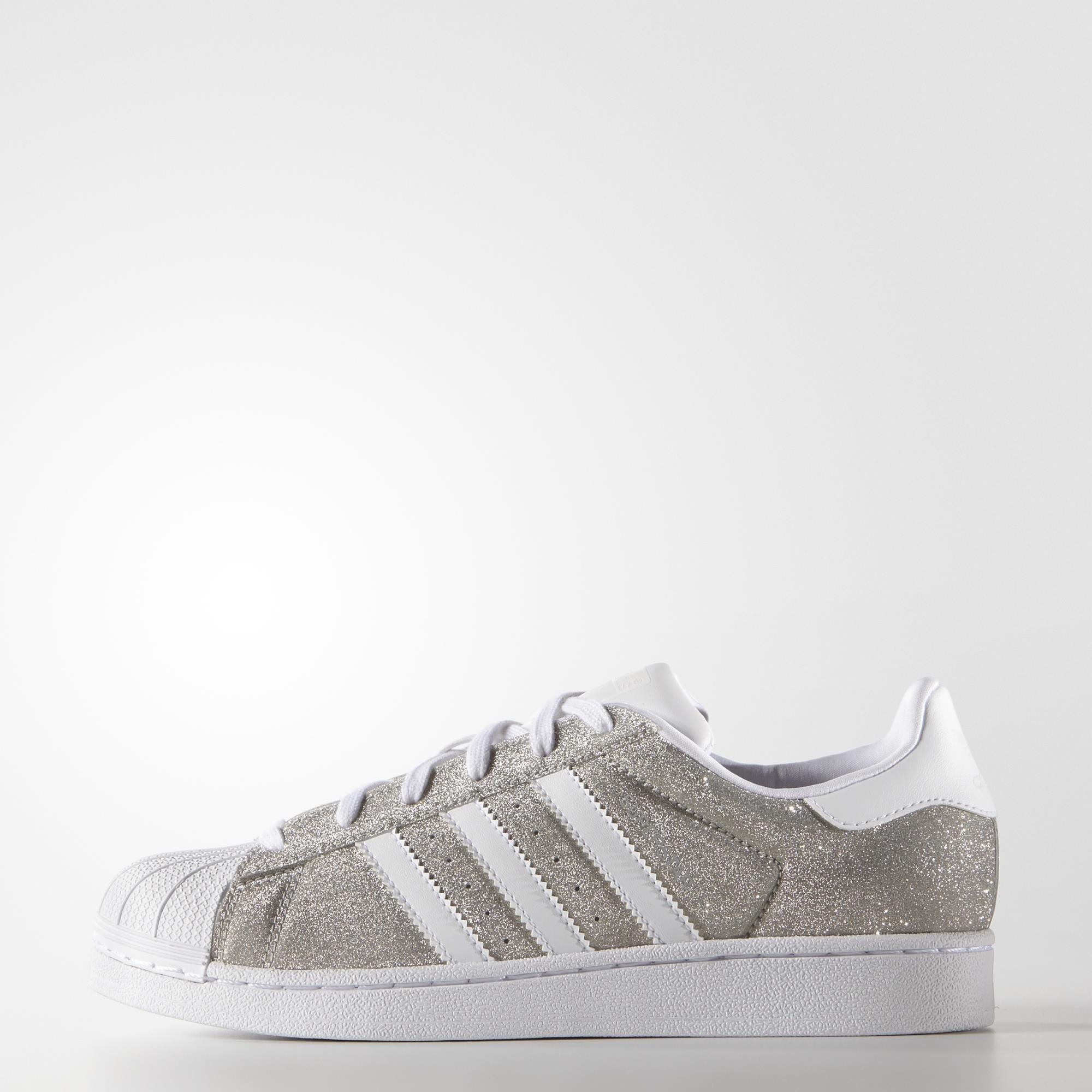 adidas superstar silver uk