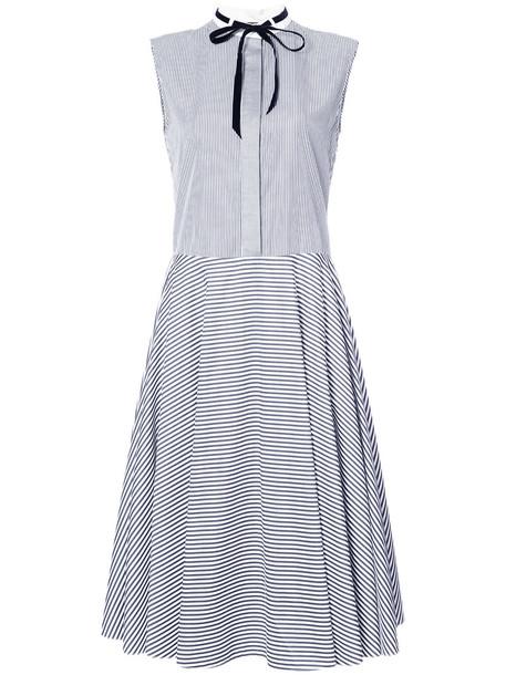 Adam Lippes dress sleeveless women cotton black