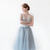 "Gretta Tulle Skirt - Dusty Blue - 30"" Length — Alexandra Grecco"