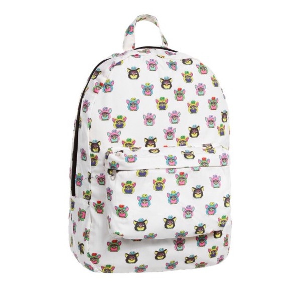 bag furby backpack cute