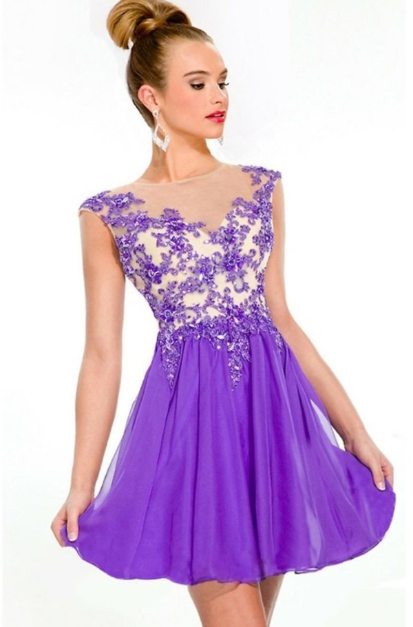 dress purple dress prom dress