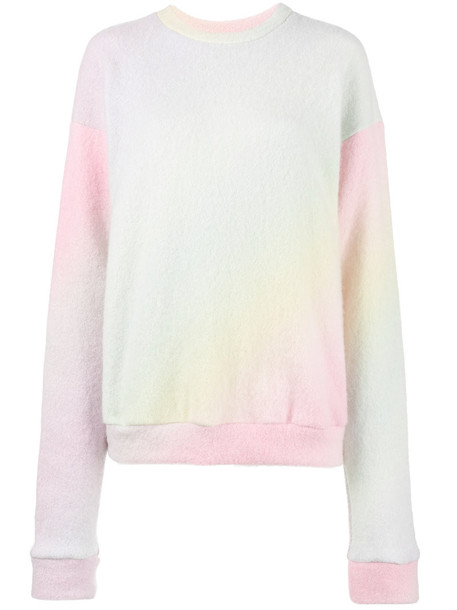 The Elder Statesman sweater pastel women spandex tie dye