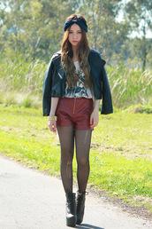 chloe ting,jacket,jewels,shorts,t-shirt,shoes
