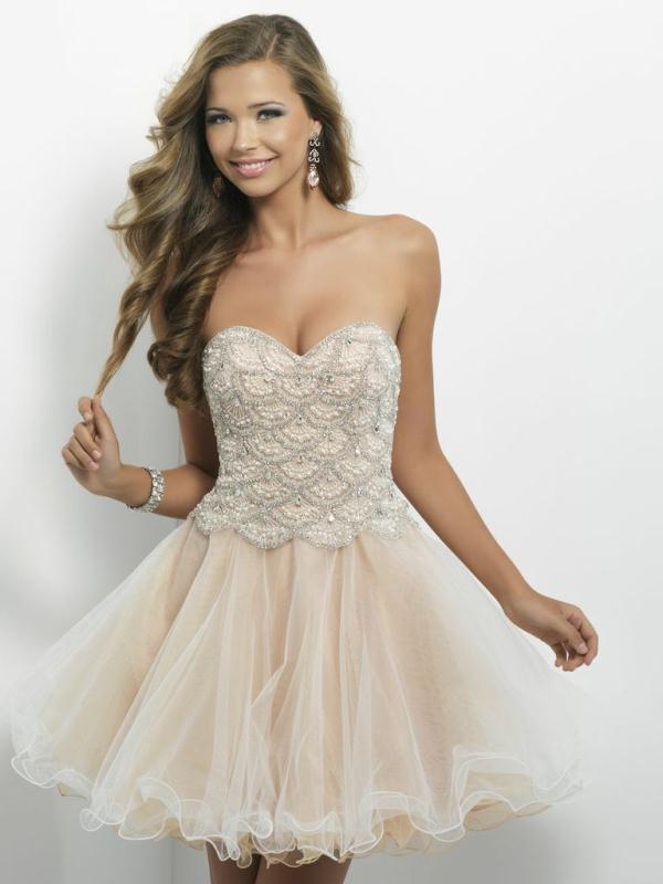 blush 9650, Designer blush Champagne dress For Sale New Trend