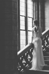 dress,lace dress,elegant,long dress,lace,white,nude
