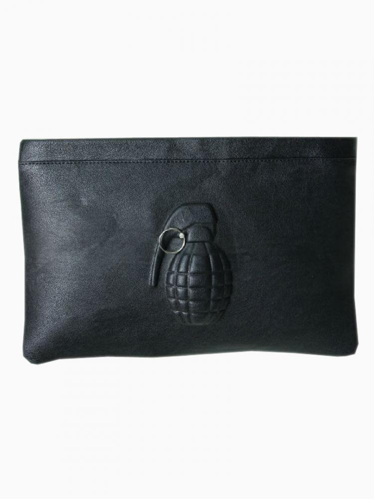 Black limited edition grenades clutches
