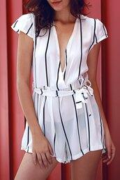 romper,white,fashion,style,trendy,classy,elegant,spring,summer